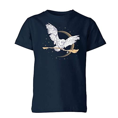 Camiseta con diseño de Escoba de Hedwig