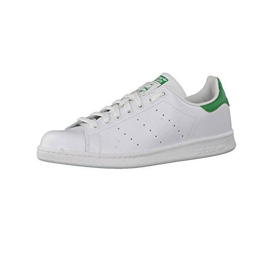 Adidas Originals Stan Smith, Sneaker Unisex – Adulto, Bianco (Running White Ftw/Running White/Fairway), 39 1/3 EU