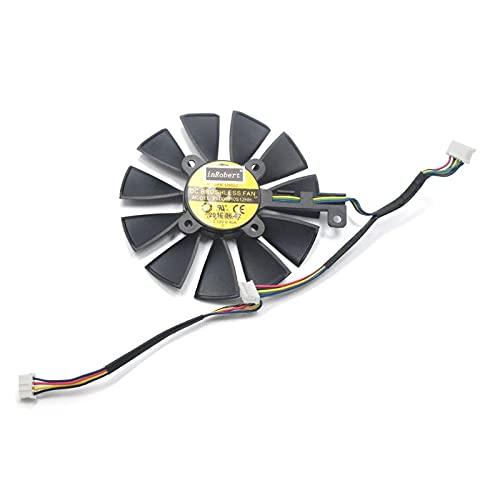 ShapeW Ventilador de refrigeración PLD09210S12M PLD09210S12HH de 87 mm para ASUS Strix GTX 1060 OC 1070 1080 GTX 1080Ti RX 480