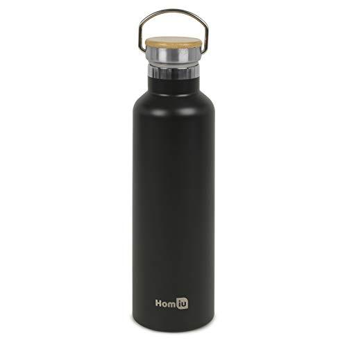 Homiu Gourde isotherme Noir 750 ml
