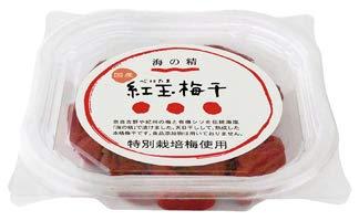 海の精  特別栽培 紅玉梅干(カップ) 120g  6個