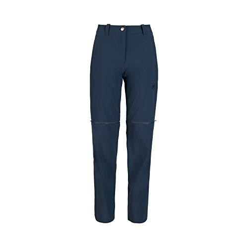 Mammut Damen Pantalon Runbold Zip Off Hose, Marineblau, 46 Short