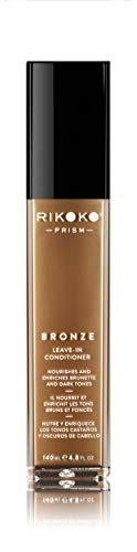 Rikoko PRISM Pigmented Leave in Conditioner for Natural Hair and Color Treated Hair - Prism BRONZE Conditioner - 300 ML - Natural Leave In Conditioner - Sulfate and Paraben-Free