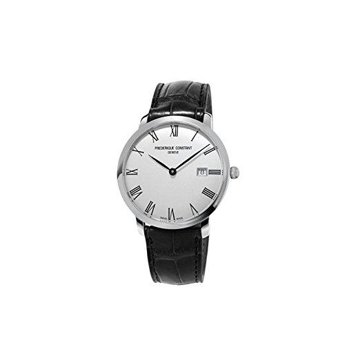 FREDERIQUE CONSTANT Unisex Datum Norm Automatik Uhr mit Leder Armband FC-306MR4S6