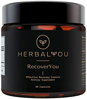 RecoverYou by HerbalYou Effective Recovery Formula and Detox Supplement for Hangover Prevention product image