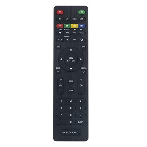 GCBLTV50U-C1 Ersatz Fernbedienung - VINABTY GCBLTV50U C1 Fernbedienung für Changhong LCD TV LED40YC1700UA LED42YC2000UA Remote Controller
