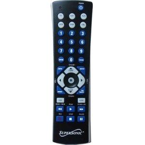 Supersonic SC-26 Universal Remote Control - For TV, Auxiliary, VCR, Satellite Box, Cable Box - SC-26