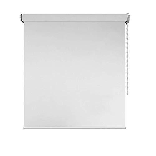AA-Curtain CULI Rollos 80 cm / 100 cm / 120 cm / 140 cm Breite Blackout wasserdichte Rollos für Badezimmer Innenfenster, Grau Polyester