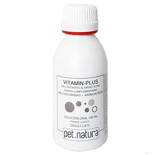 PETNATURA Vitamín Plus - Liquido per cani e gatti, 100 ml
