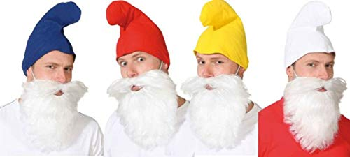 Nain Hat accessoire costume rouge carnaval contes Imp Smurf