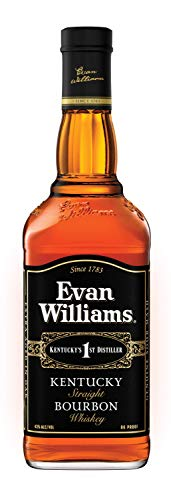 Evan Williams Black Bourbon Whiskey (1 x 0.7 l)