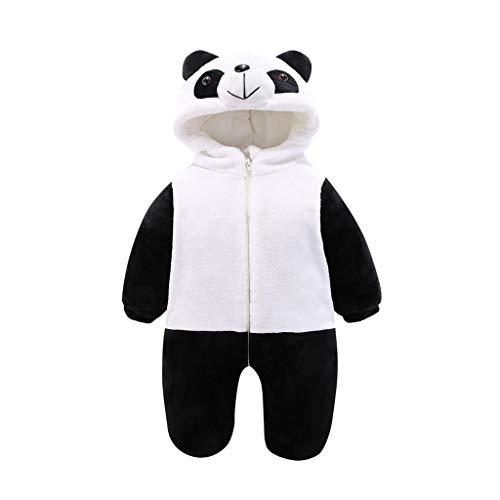 NYKK Disfraces para niños Animales de los niños de la Panda del Traje de Halloween Pijamas, Unisex del bebé del Mameluco del bebé de los Pijamas de la Ropa del bebé Pijamas de Animales para niños