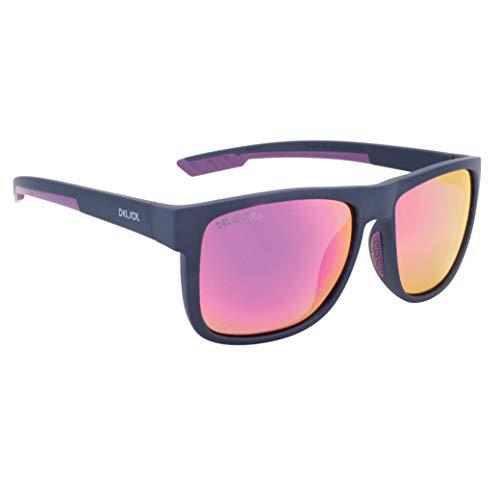 Delsol Solize You Got It-Light Gray to Purple, Gafas de sol Unisex-Adulto, Grey, 1 Pc
