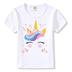 100% Modal, Machine Wash Super Soft and Comfortable Bright Colors with Adorable Unicorn Figures Makes It a Perfect Gift for Girls Super Cute Unicorn Accessories for Girls, Ideal Unicorn Outfit Gifts for Girls Size Info: M-8 for 4-5 Years, L-10 for 6 ...