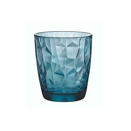 Rocco Bormioli Diamond Blue Art. 2367900 - Confezione 6 Bicchieri Dof Cl. 39