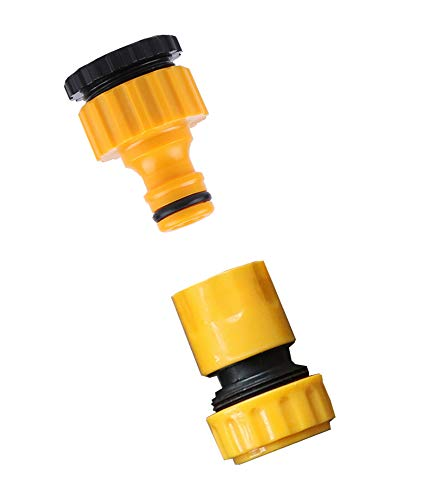 """Clear Heavy Duty Plastic Pressure Washer inlet Filter 3//4/""""F Hozelock Compatible"""