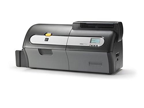 Zebra plastiques livrée Series 7Carte d'identité Imprimante–UHF encodage (USB, Ethernet et WiFi)