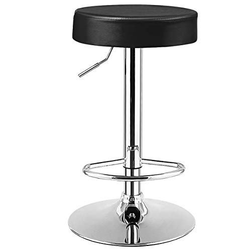 COSTWAY Backless Round Bar Stool