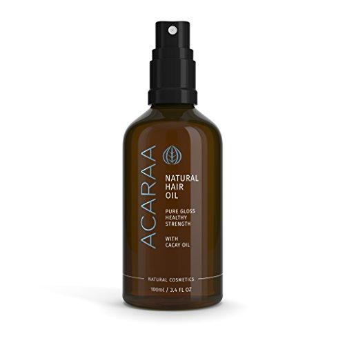 ACARAA Natural Hair Oil, 1x100ml, Pour des Cheveux Sains et Forts, Produits Cosmétiques Naturels