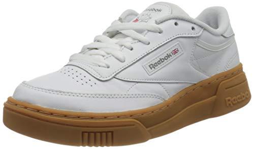 Reebok Męskie buty Club C Stacked Sneaker, biały - Biała biała guma Reebok - 40 EU