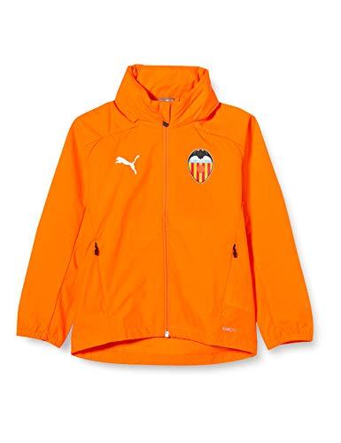 PUMA VCF Rain Jacket Jr Veste Imperméable Enfant Vibrant Orange FR : Taille Unique (Taille Fabricant : 152)