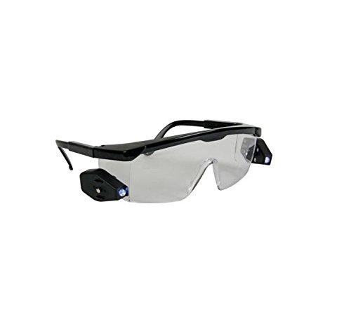 Paire lunettes de protection LED - Lunette Verre Soudure Bricolage - 207