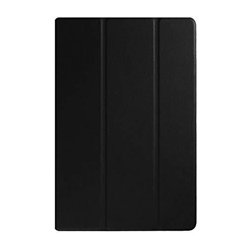 Funda de Piel para Sony Xperia Z4 Tablet - Funda Ultra Delgada y Ligera para Sony Xperia Z4 Tablet Tableta de 10.1 Pulgadas-Negro_China