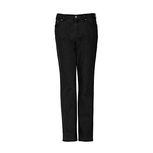 Anna Montana Damen Jeans Dora London - schwarz (1) - 48