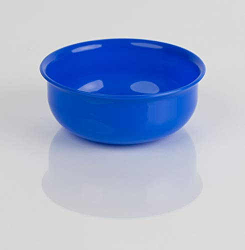 Kimmel Schüssel Schale Müsli Suppe Kunststoff Plastik Mehrweg bruchsicher stapelbar 10 cm, Blau