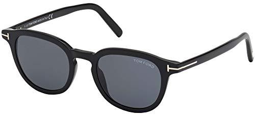 Tom Ford Gafas de Sol PAX FT 0816 Black/Smoke 49/21/145 Unisex