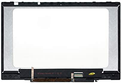 No Bezel LCDOLED Replacement 14.0 inches FullHD 1920x1080 LCD LED Display Touch Screen Digitizer Assembly with Control Board for HP Chromebook x360 14b-ca L73303-001 L77983-001 L73304-001 L77984-001