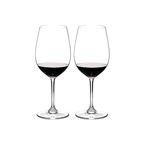 Riedel Sommeliers Crystal Bordeaux Grand Cru Wine Glass, Set of 2