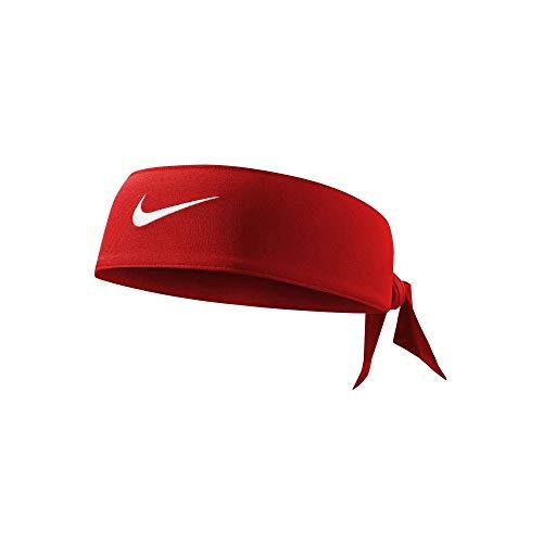 Nike Dri-Fit Head Tie 2.0 Gym Red/White Size One Size