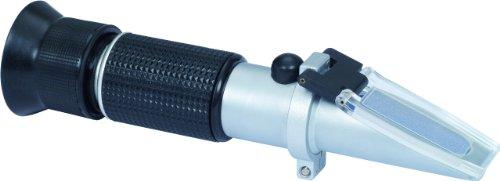 KS Tools 550.1285 Refraktometer - optisches Prüfgerät für Batterieflüssigkeit, Frostschutzmittel und AdBlue®-Zusätze