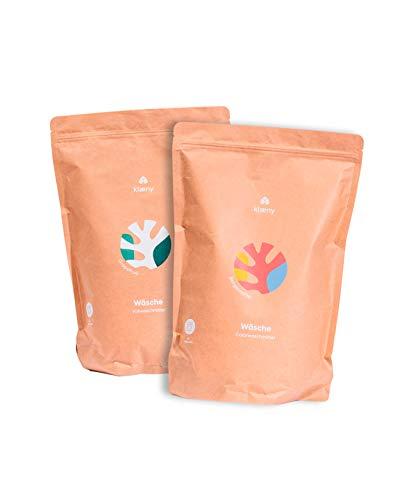 KLAENY® Nachhaltiges Waschmittel Set Color- und Vollwaschmittel (2 x 2kg)