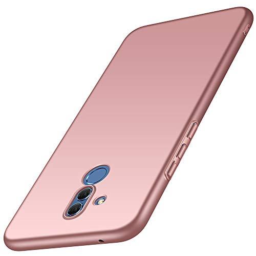 ORNARTO Mate 20 Lite Hülle für Huawei Mate 20 Lite Ultra Dünn Schlank Stoßfest, Anti-Scratch FeinMatt Einfach Handyhülle Abdeckung Stoßstange Hardcase für Huawei Mate 20 Lite(2018) 6.3' Rose Gold