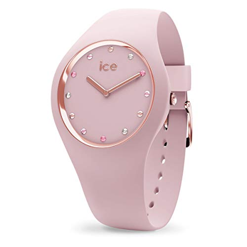 Ice-Watch - Ice Cosmos Pink Shades - Montre Rose pour Femme avec Bracelet en Silicone - 016299 (Small)