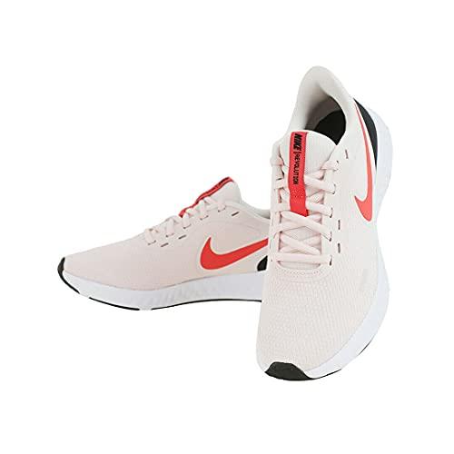 Nike Revolution 5, Scarpe da Corsa Donna, Light Soft Pink/Magic Ember-Black-White, 35.5 EU