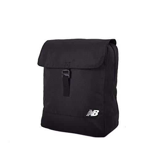 New Balance Flap Backpack Mochila, Unisex Adulto, Negro, Talla única