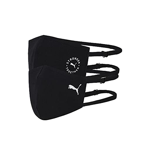 PUMA Face Mask II (Set of 2) (Black)