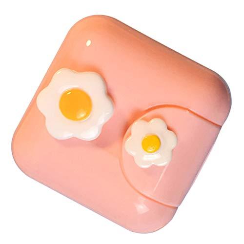 Artibetter Prothesenbadetasche Prothesenbecher mit Siebkorb Prothesenaufbewahrungsbox Falsche Zähne Behälterhalter für Die Reisereinigung Einweichen