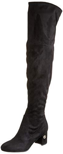 Guess ADLEE2/STIVALE (Boot)/Fabric, Botas Altas Mujer, Negro (Black Black), 37 EU