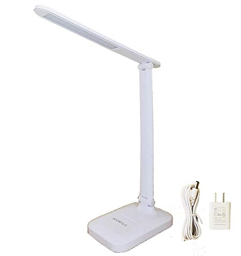 135hrs Rechargeable Battery Powered LED Desk Lamp,AFORTLO...