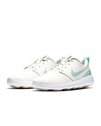 Nike Womens Roshe G Sail/Light Dew Golfschuhe, Weiß - weiß - Größe: 40 EU