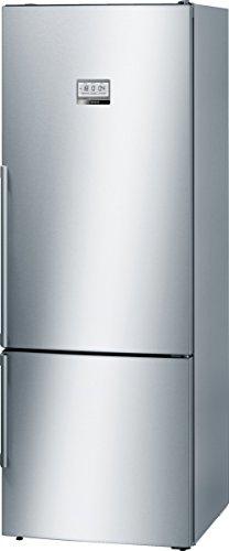 Bosch KGF56HI40 Serie 8 Freistehende XXL-Kühl-Gefrier-Kombination / A+++ / 193 x70 cm / 216 kWh/Jahr / Inox-antifingerprint / 375 L Kühlteil / 105 L Gefrierteil / NoFrost / Home Connect fähig