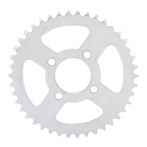 RiToEasysports Piñón de Cadena Trasero, 420 48mm 42T Piñón Trasero para Bicicleta eléctrica Kart Motocicleta