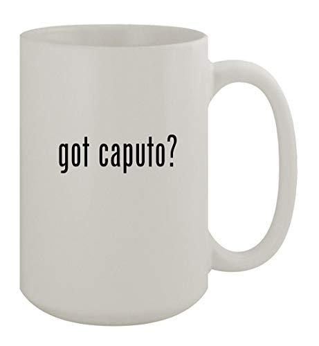 got caputo? - 15oz Ceramic White Coffee Mug, White