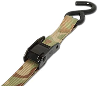 PROGRIP 409470 Outdoor Series Hunting and Camping Tie Down with Camo Strap:Cambuckle with S-Hook, 5 1/2' x 1