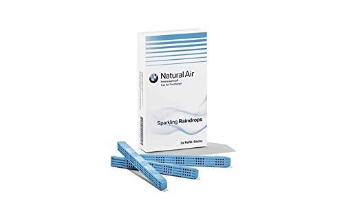 BMW Natural Air – Kit de recharge pour parfum d'intérieur Sparkling Rain Drops (83122285679)