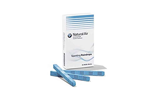 Original BMW Natural Air Innenraumdüfte - Sparkling Raindrops Refill Kit (83122285679)